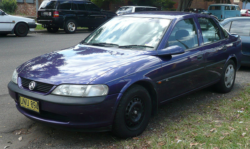 Holden Vectra #9