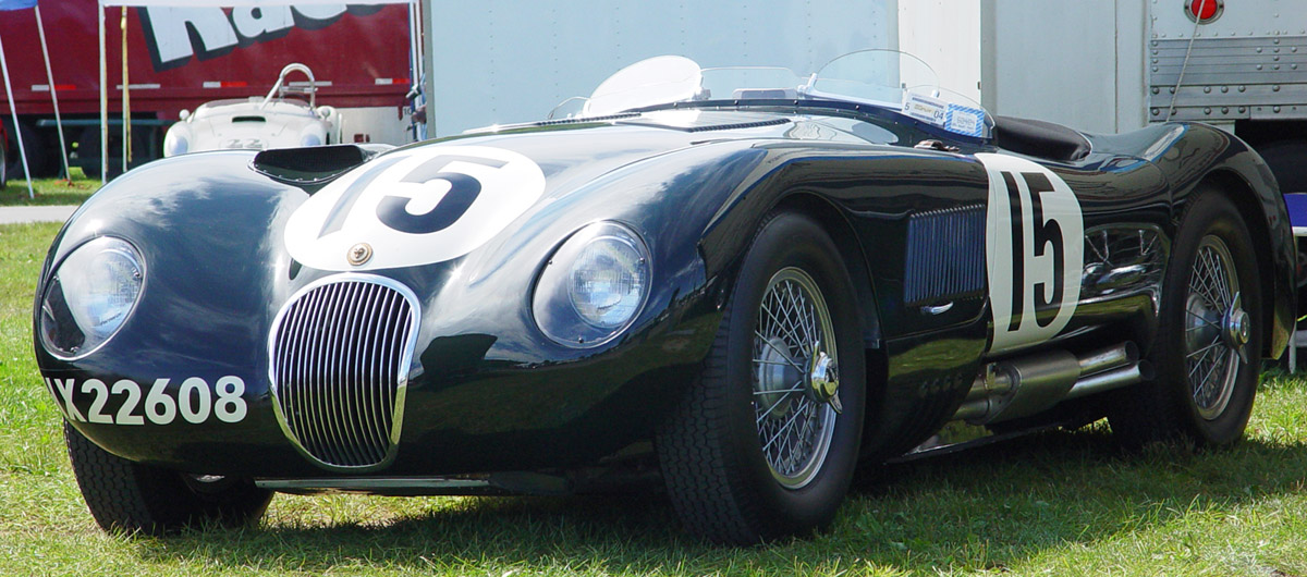 1953 Jaguar C-Type #11