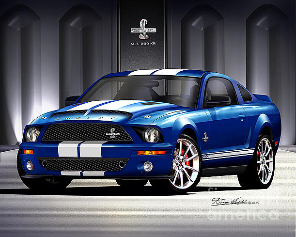 2007 Ford Shelby Gt500 #15