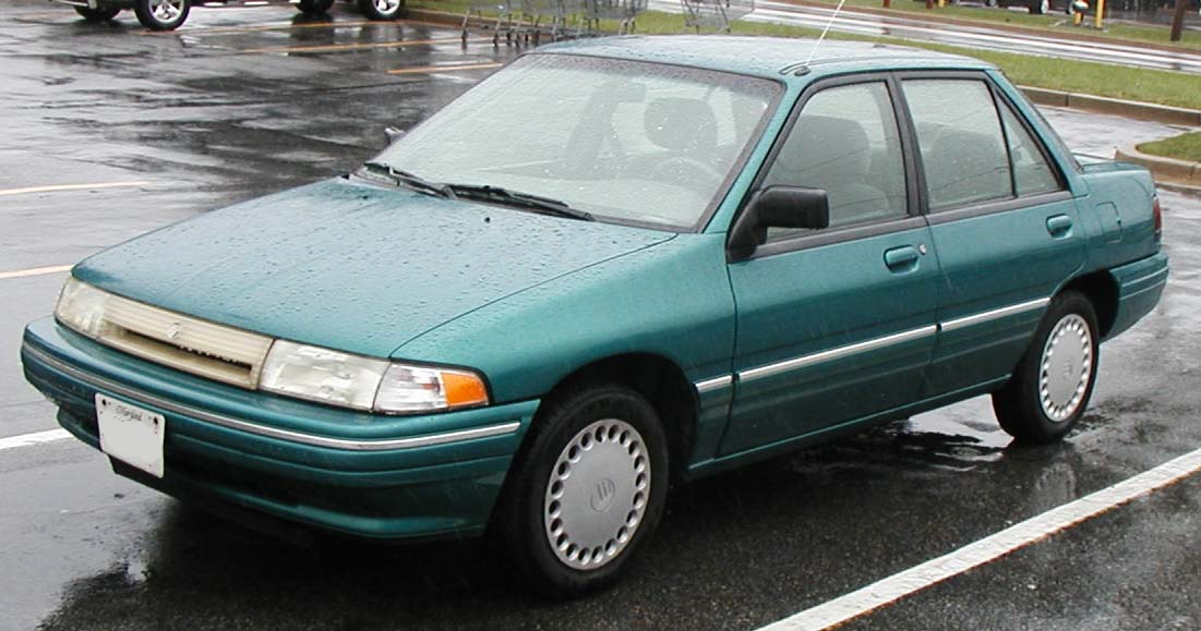 1998 Ford Tracer #3