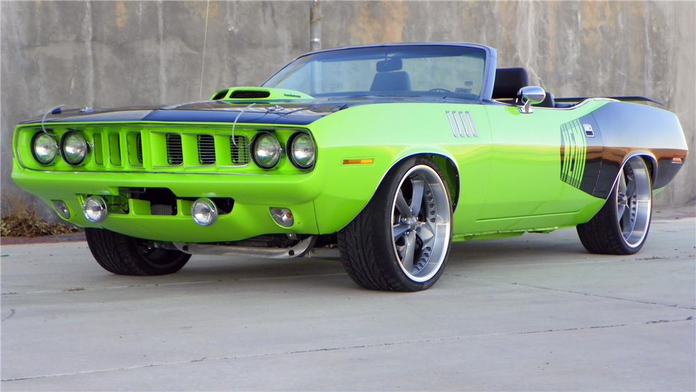 1971 Plymouth Barracuda #12