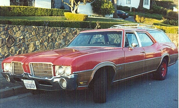 1971 Oldsmobile Vista Cruiser #3
