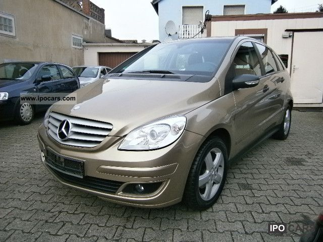 2007 mercedes benz b photos informations articles. Black Bedroom Furniture Sets. Home Design Ideas