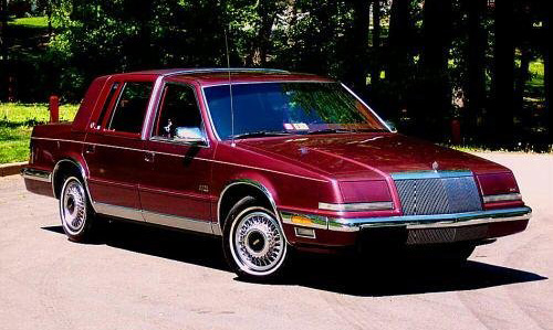 1991 Chrysler Imperial #9