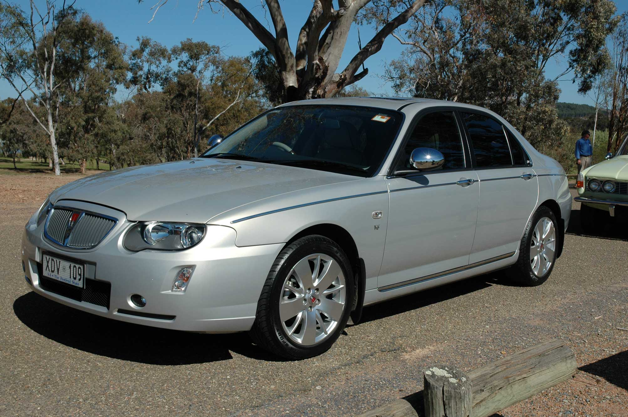 2005 Rover 75 Photos Informations Articles Bestcarmag Com