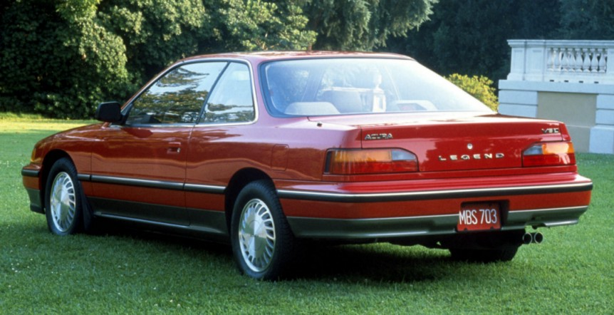 1989 Honda Legend #7