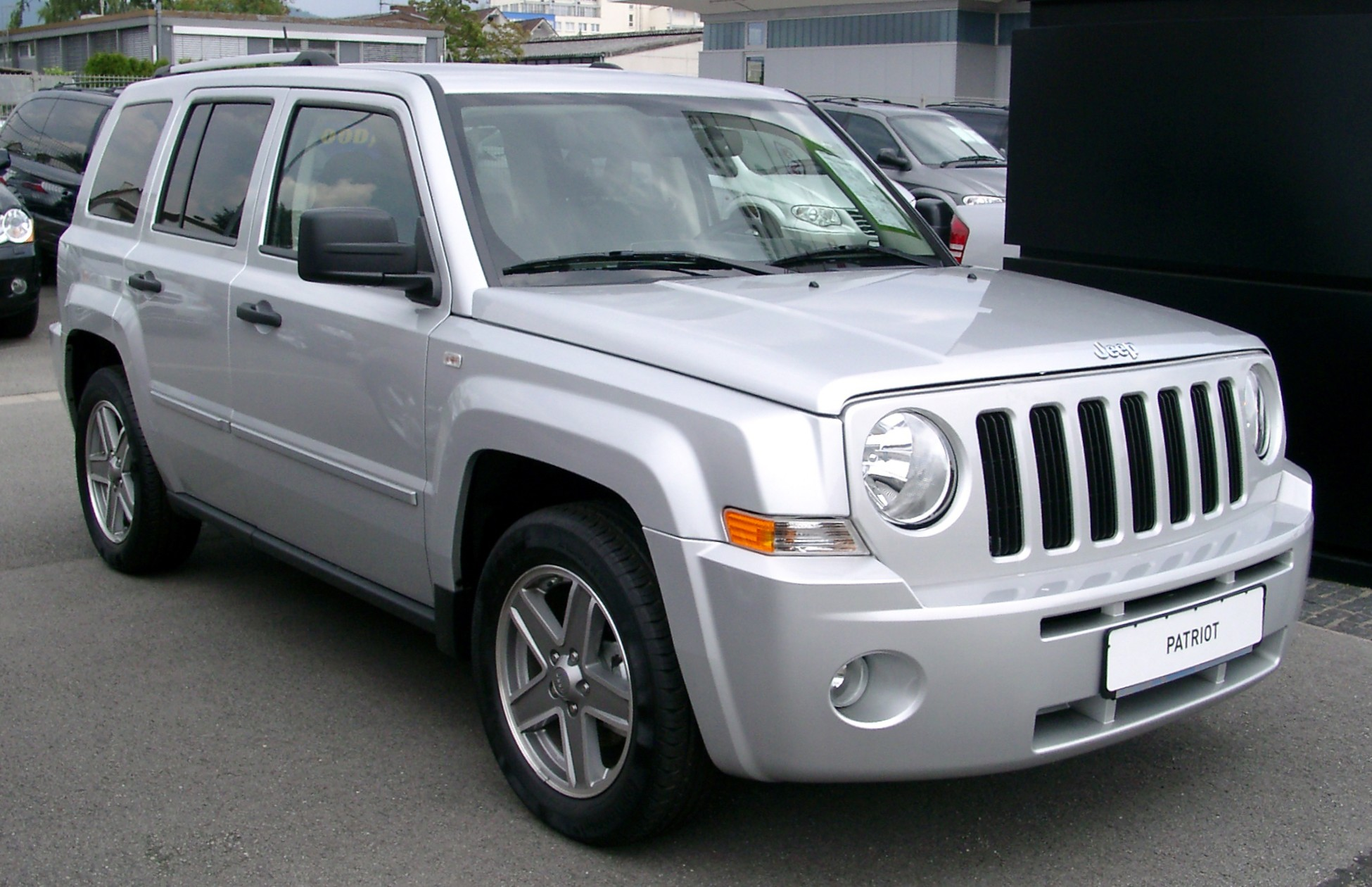 2008 Jeep Patriot Photos Informations Articles
