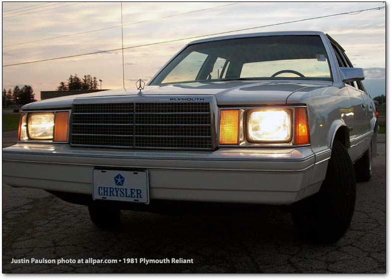 1981 Plymouth Reliant #6