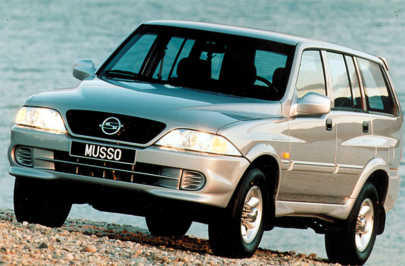 2002 Ssangyong Musso #18