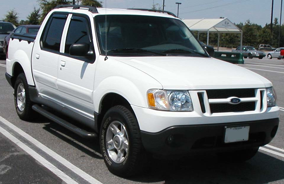 2001 Ford Explorer Sport Trac #8