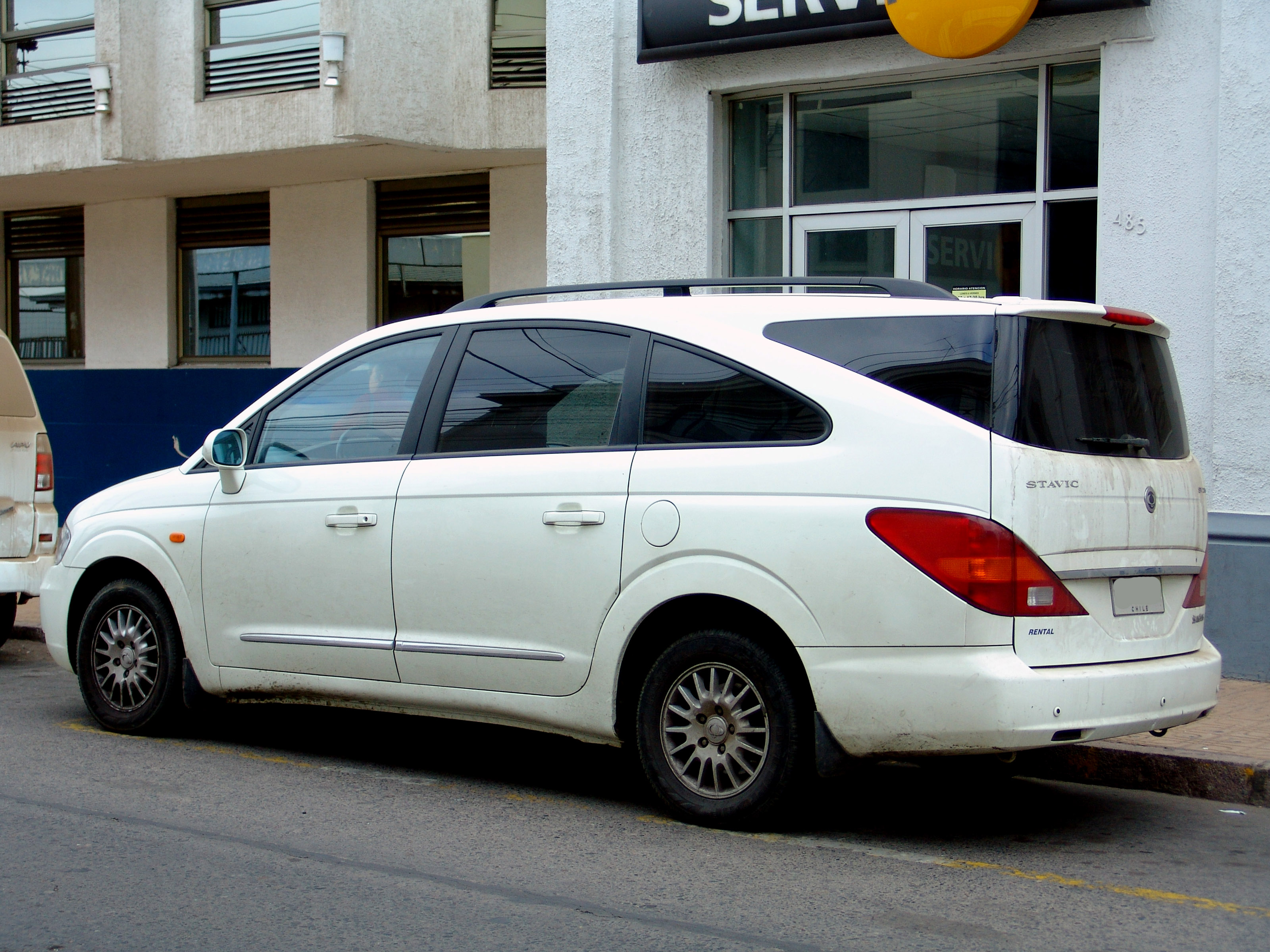 2008 Ssangyong Stavic #5