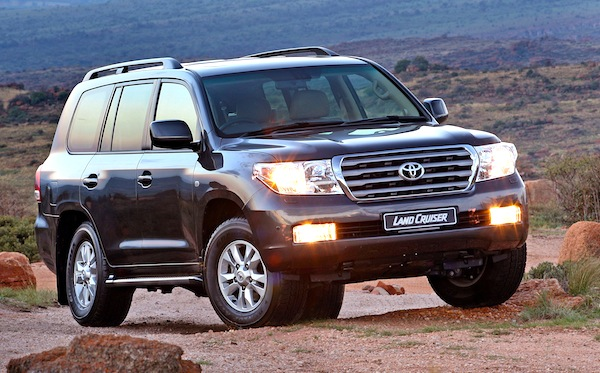 2008 Toyota Land Cruiser #9