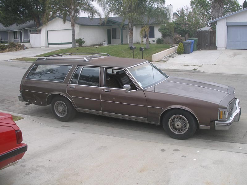 1990 Oldsmobile Custom Cruiser #11
