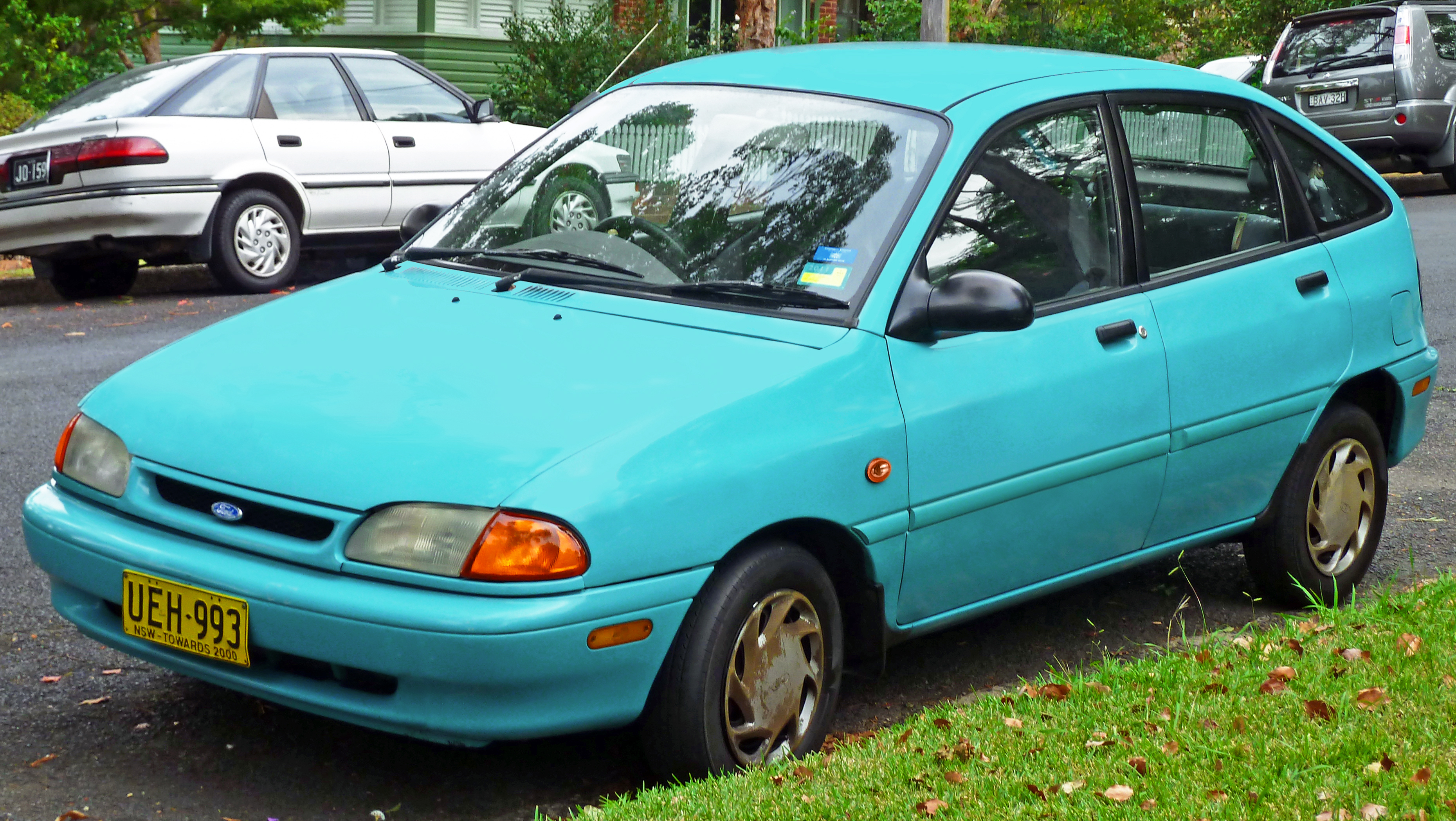 1994 Ford Aspire Photos Informations Articles Wiring Diagram 11