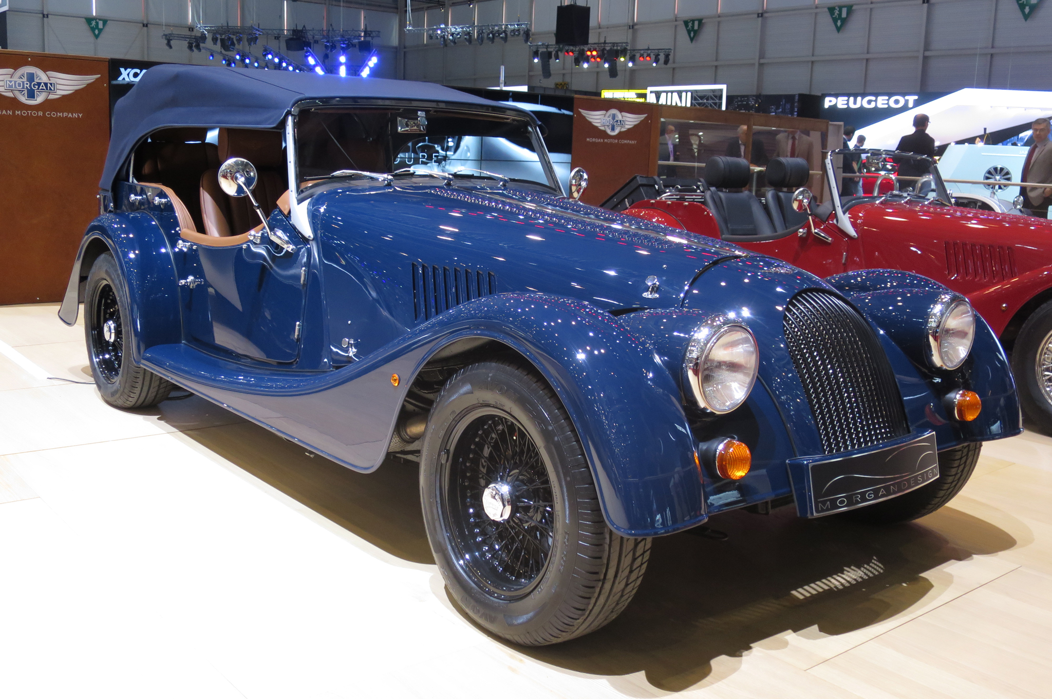 1955 Morgan Plus 4 #16