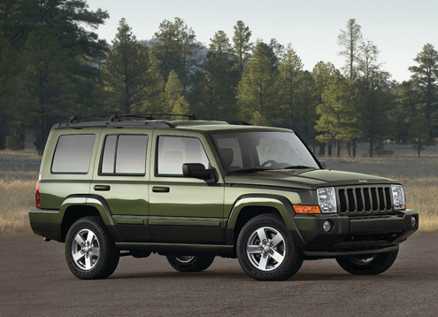 2008 Jeep Commander #4