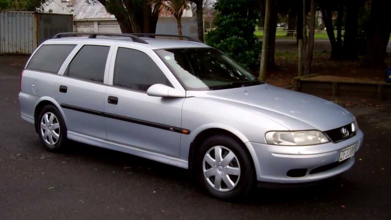 2000 Holden Vectra #6