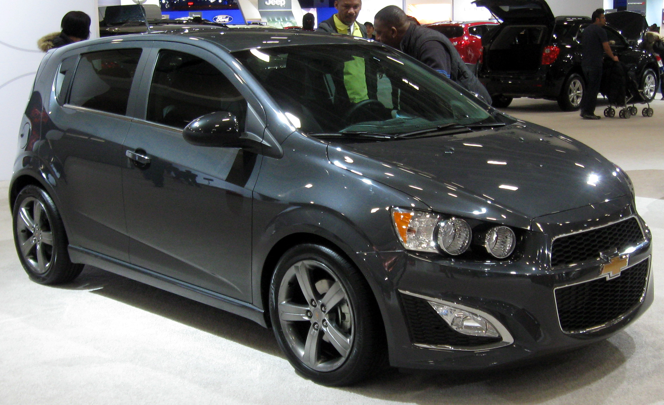 Chevrolet Sonic s Informations Articles BestCarMag
