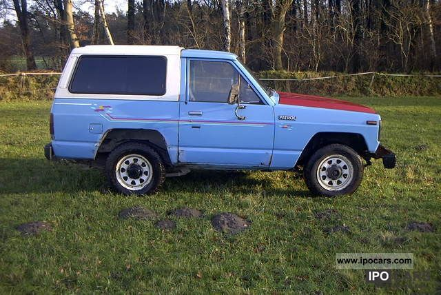 1981 nissan patrol photos informations articles. Black Bedroom Furniture Sets. Home Design Ideas