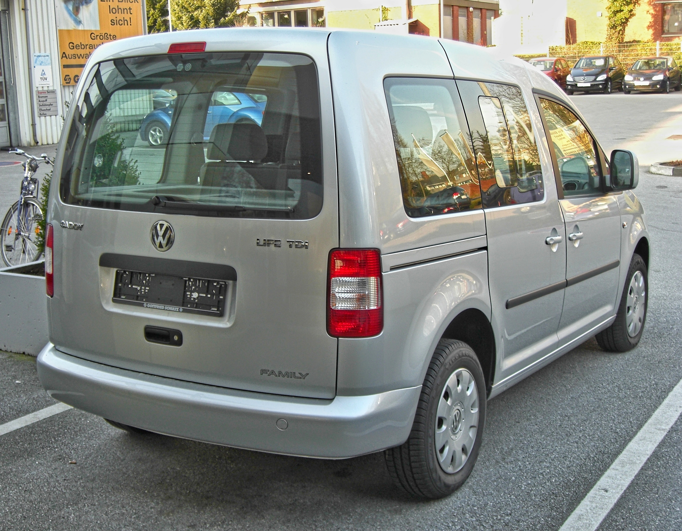 2009 Volkswagen Caddy #6