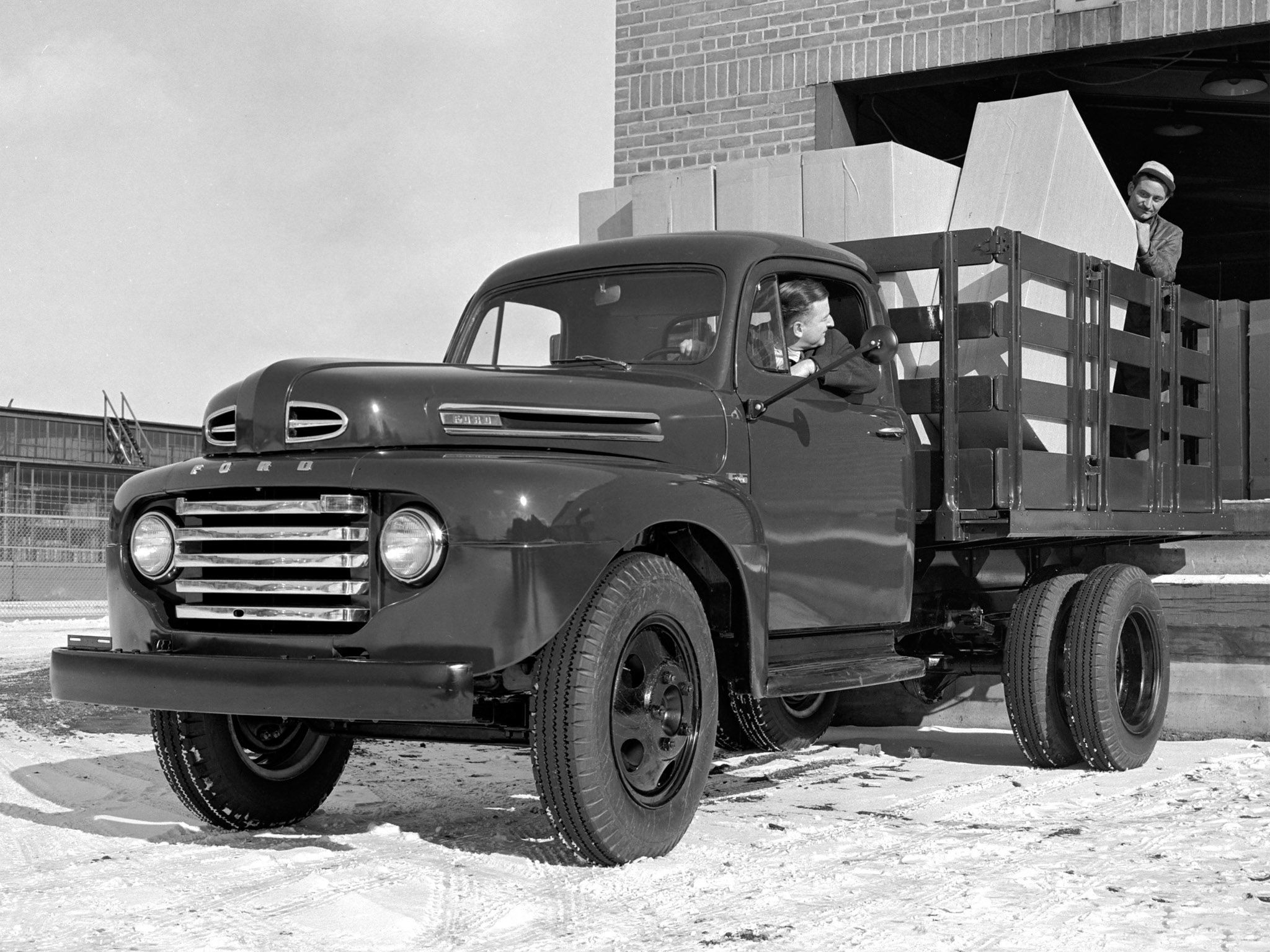 1949 Ford F Photos Informations Articles Dump Truck 13
