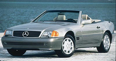 2000 Mercedes Benz SL #1