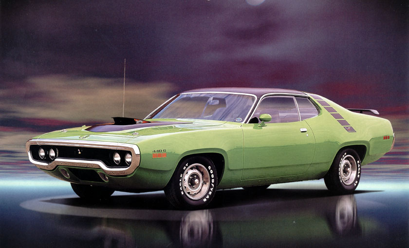 1971 Plymouth Road Runner #9