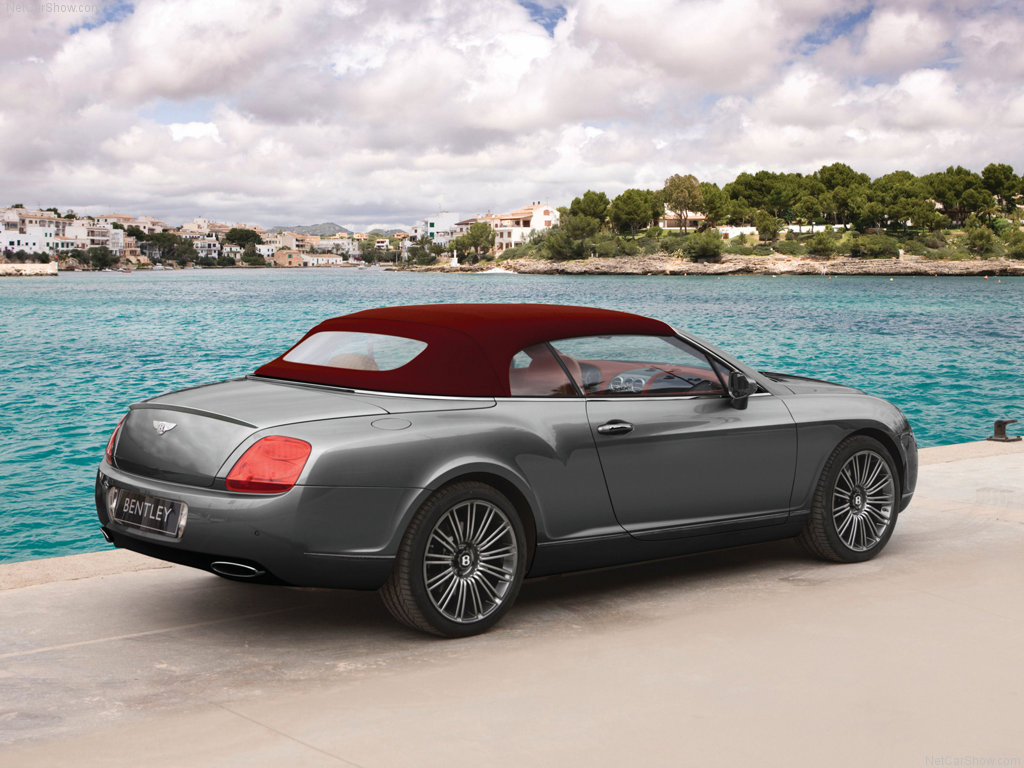 Bentley Continental Gtc Speed #15