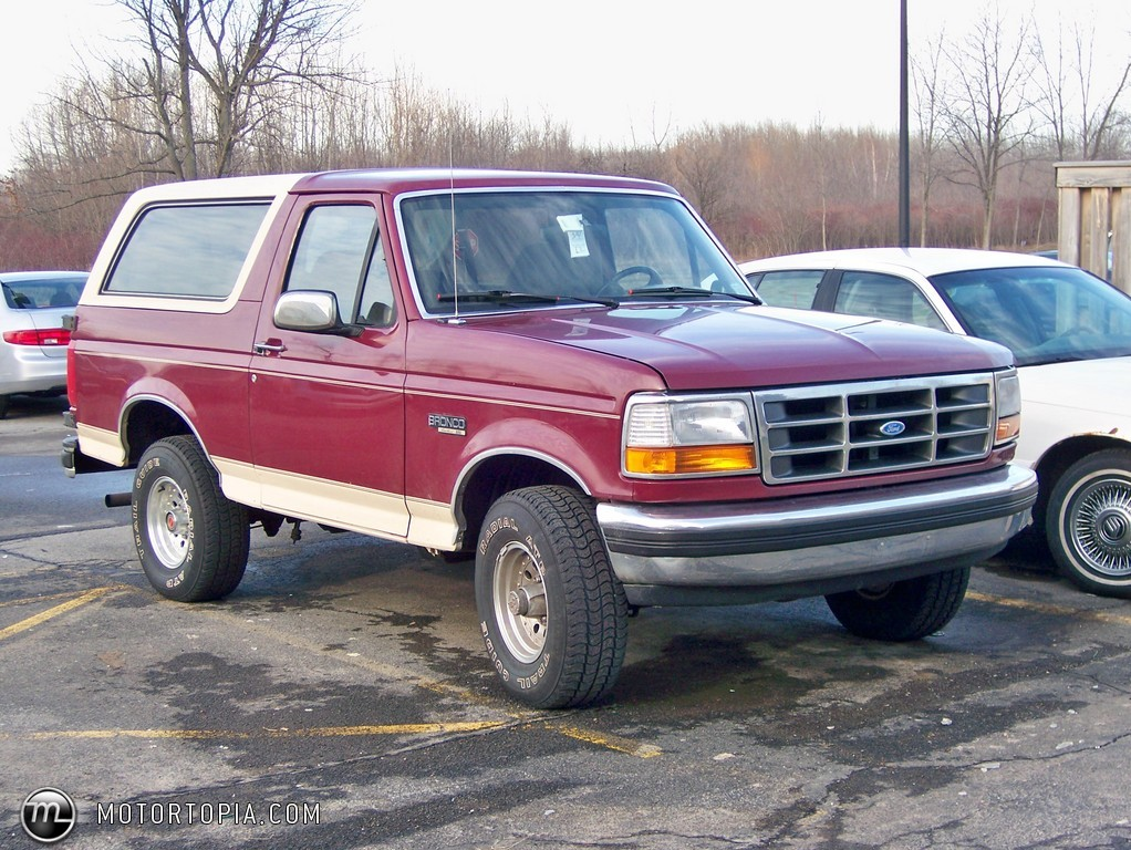 1992 Ford Bronco #4