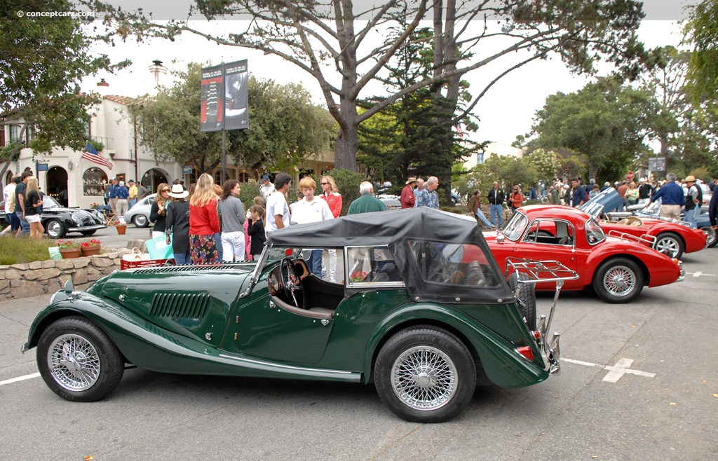 1957 Morgan Plus 4 #5