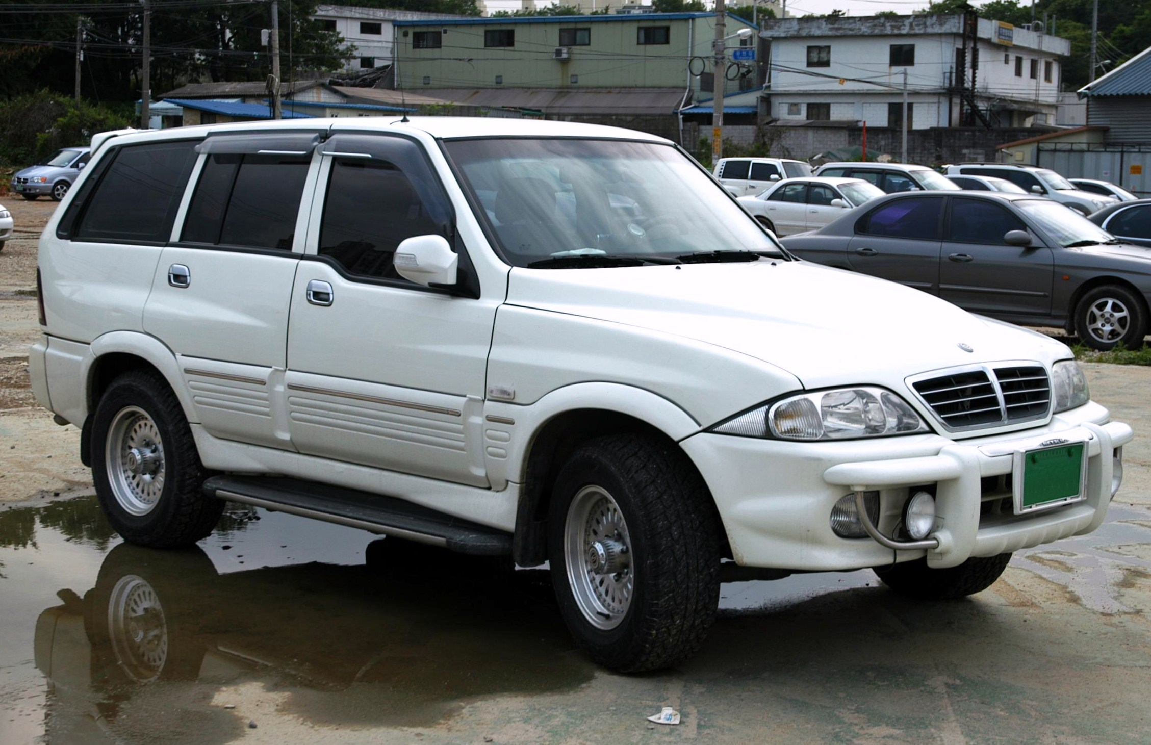2001 Ssangyong Musso #14