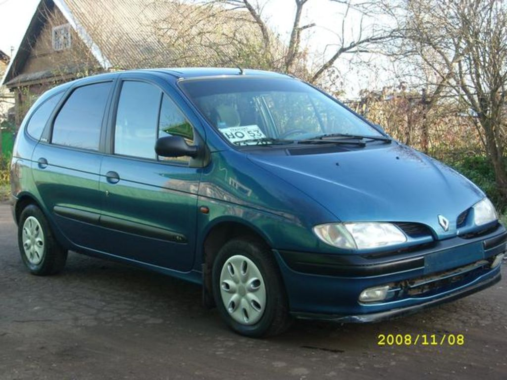 1999 renault scenic photos informations articles. Black Bedroom Furniture Sets. Home Design Ideas