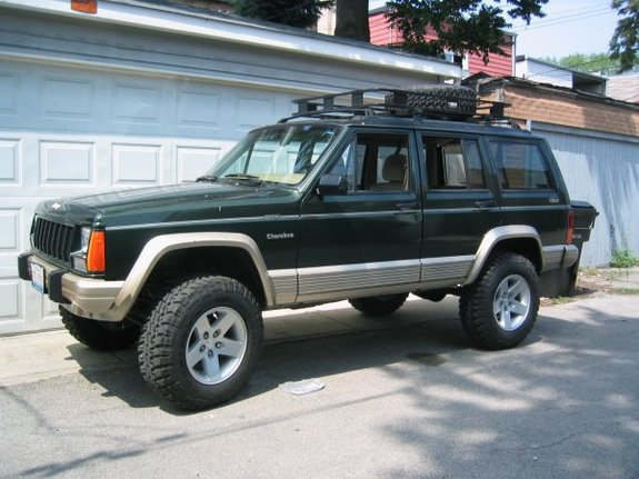 1995 jeep cherokee photos informations articles. Black Bedroom Furniture Sets. Home Design Ideas