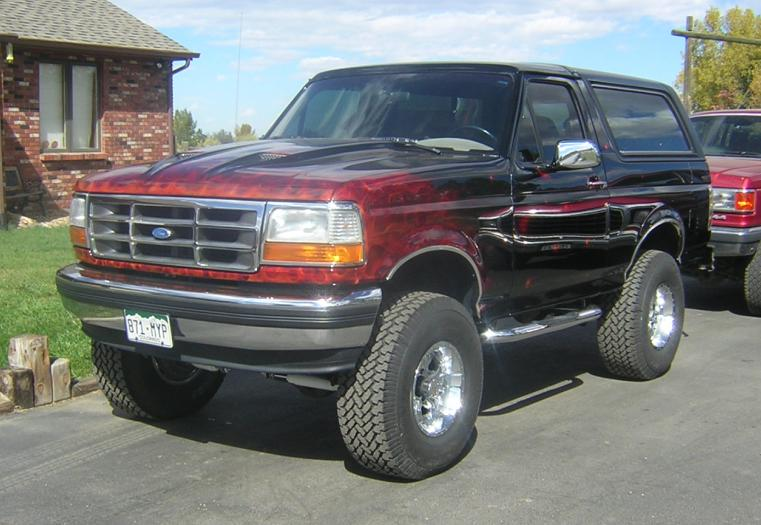 1993 Ford Bronco #15