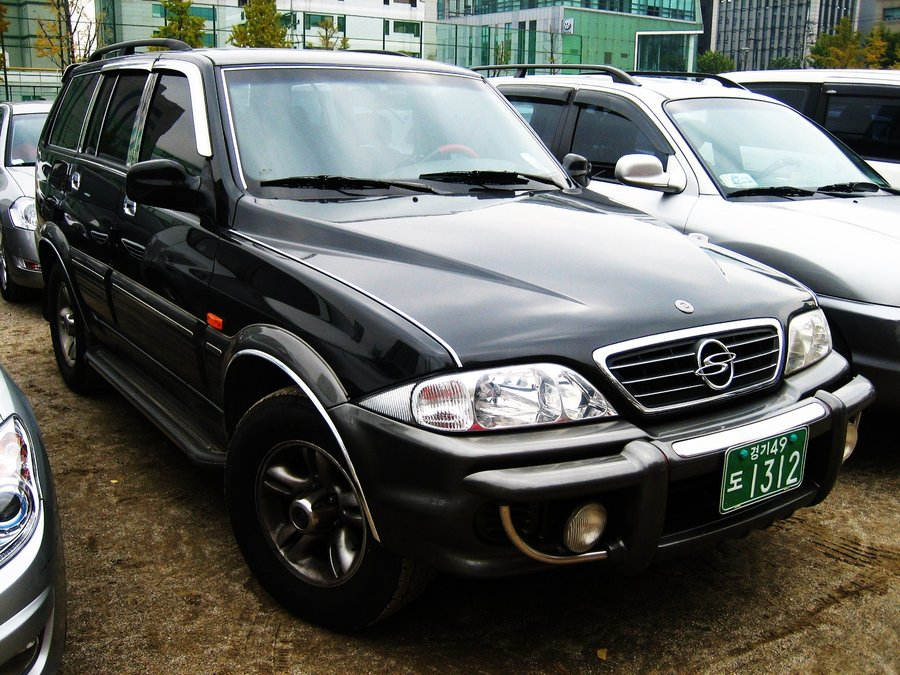 2009 Ssangyong Musso #11