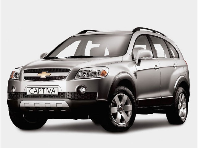 2008 Holden Captiva #17