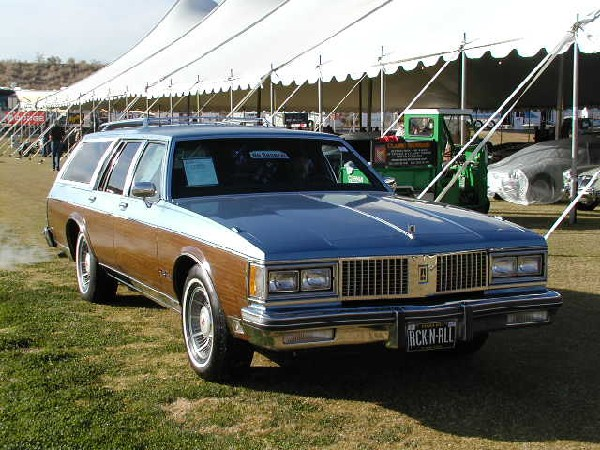 1990 Oldsmobile Custom Cruiser #4