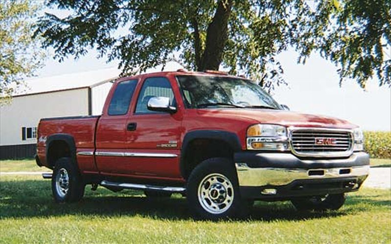 2001 GMC Sierra 2500hd #10