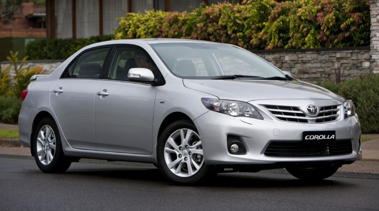 Toyota Corolla Used Car Prices In India