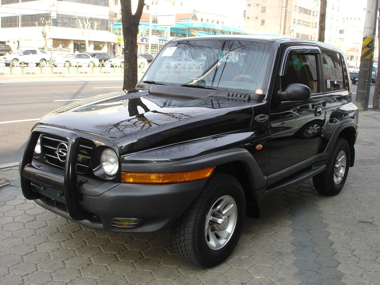 2005 Ssangyong Musso #16