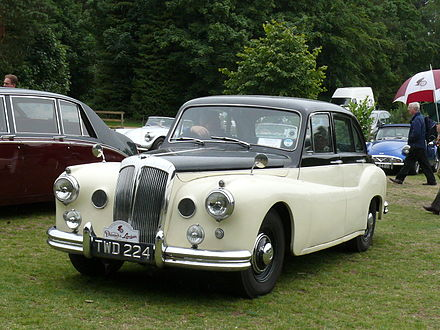 1955 Daimler One-O-Four #3