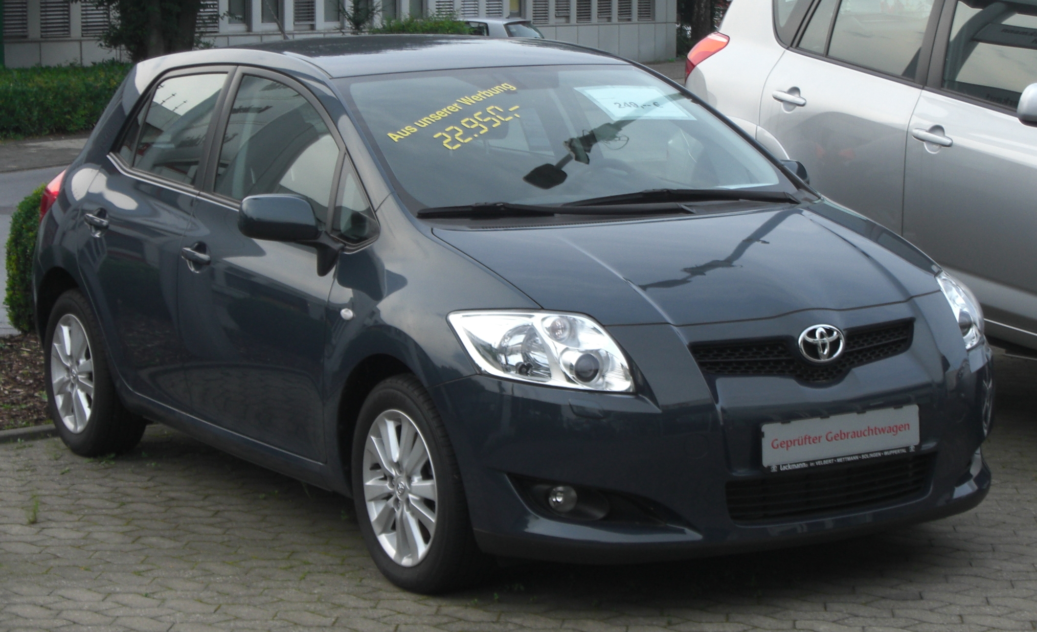 2008 toyota auris photos informations articles. Black Bedroom Furniture Sets. Home Design Ideas