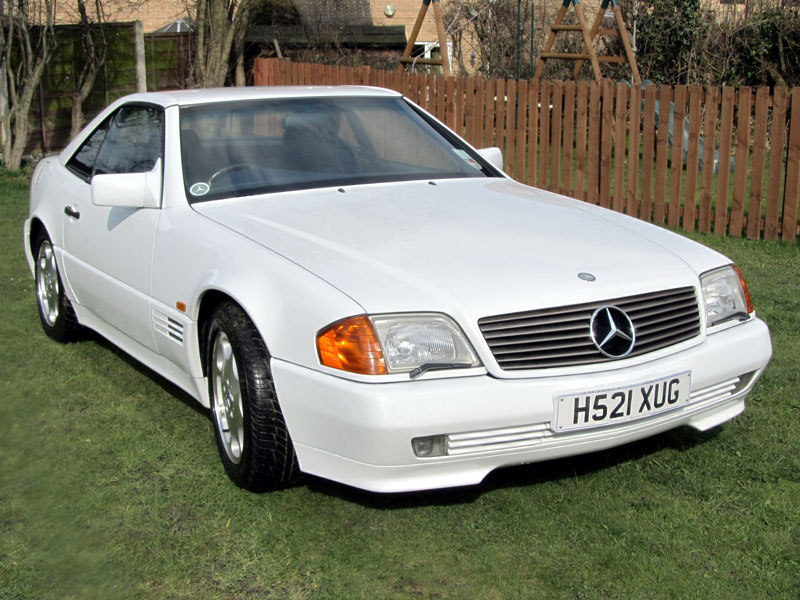 1991 Mercedes-Benz SL #16