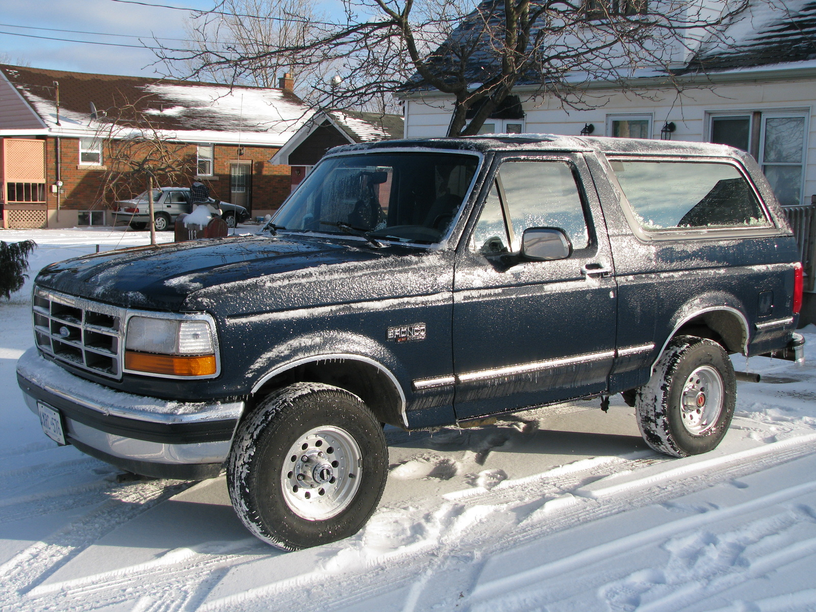 1992 Ford Bronco #1