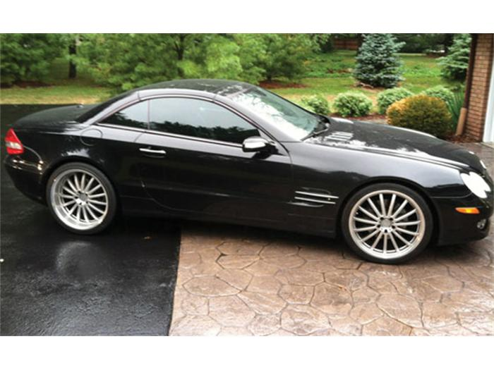2007 Mercedes-Benz SL #13