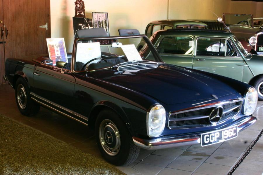 1965 Mercedes-Benz SL #9
