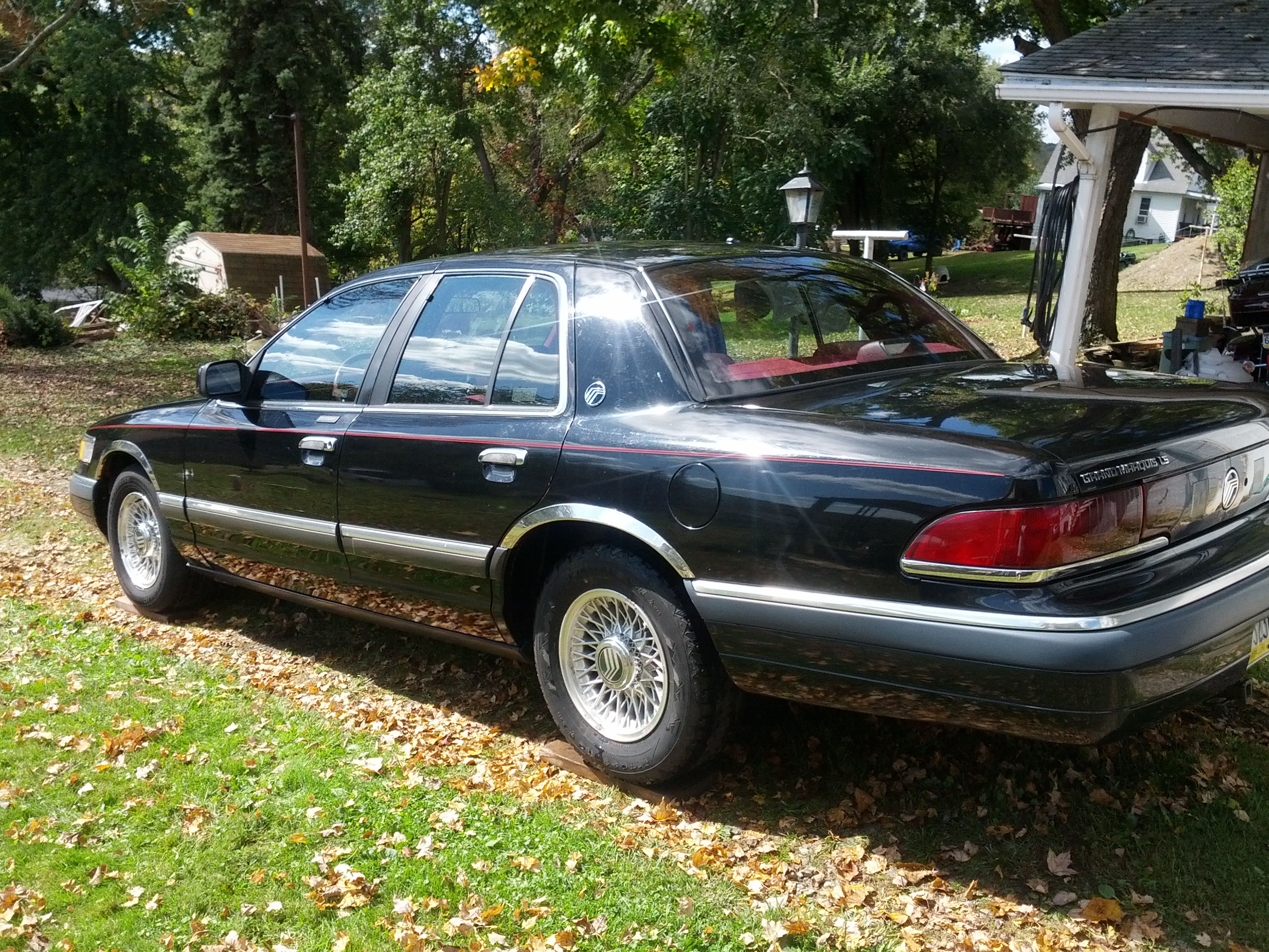 1993 Mercury Grand Marquis #9