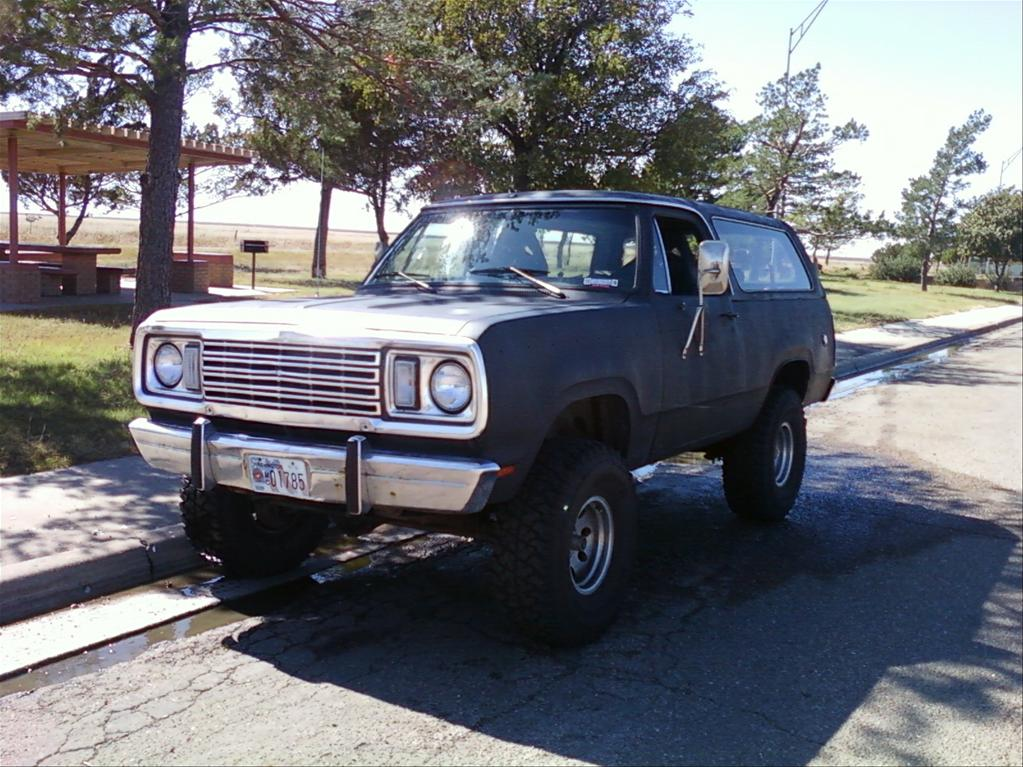 1977 Plymouth Trail Duster #1