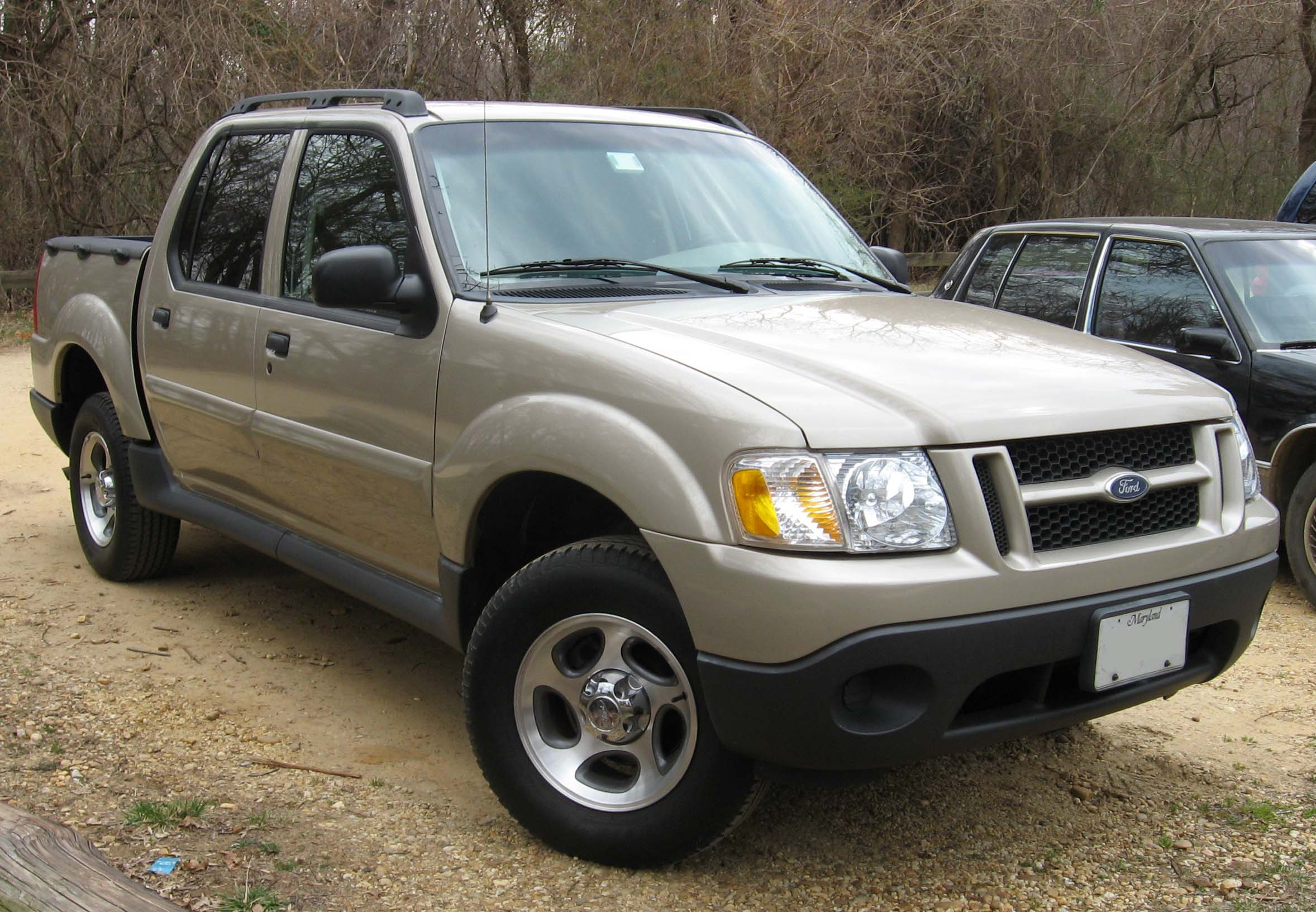 2001 Ford Explorer Sport Trac #4