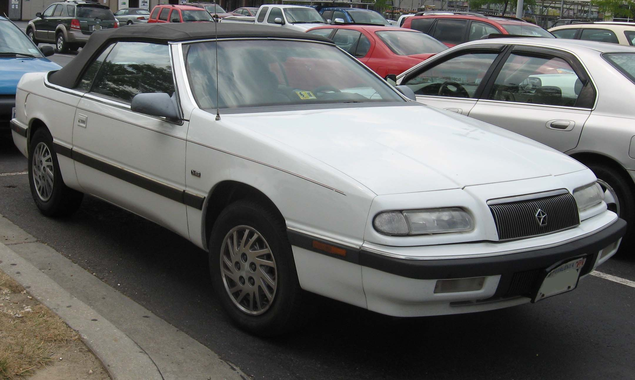 1995 Chrysler Le Baron #5